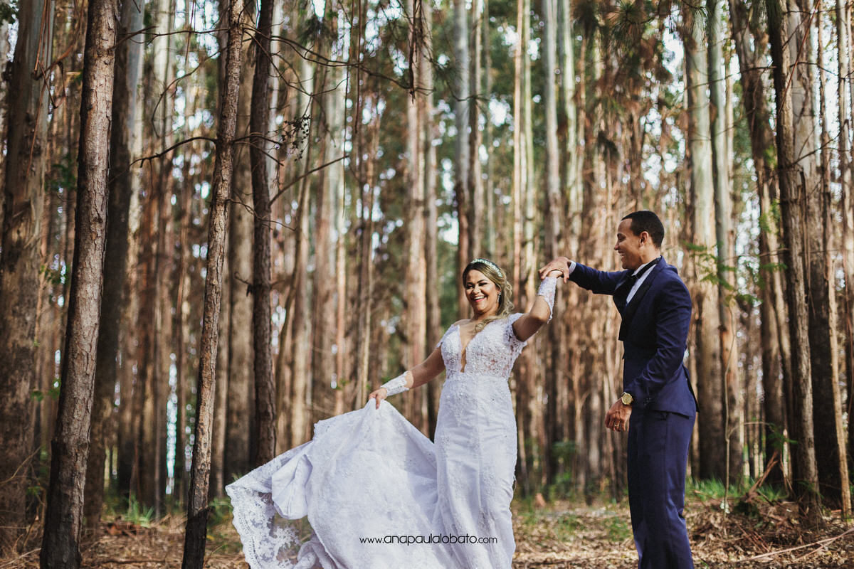 forest wedding in germany