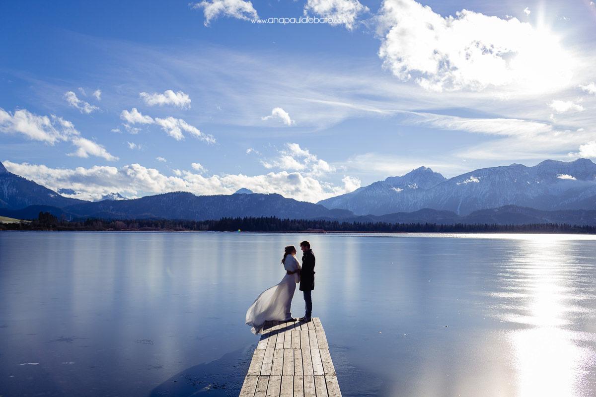 winter wedding germany