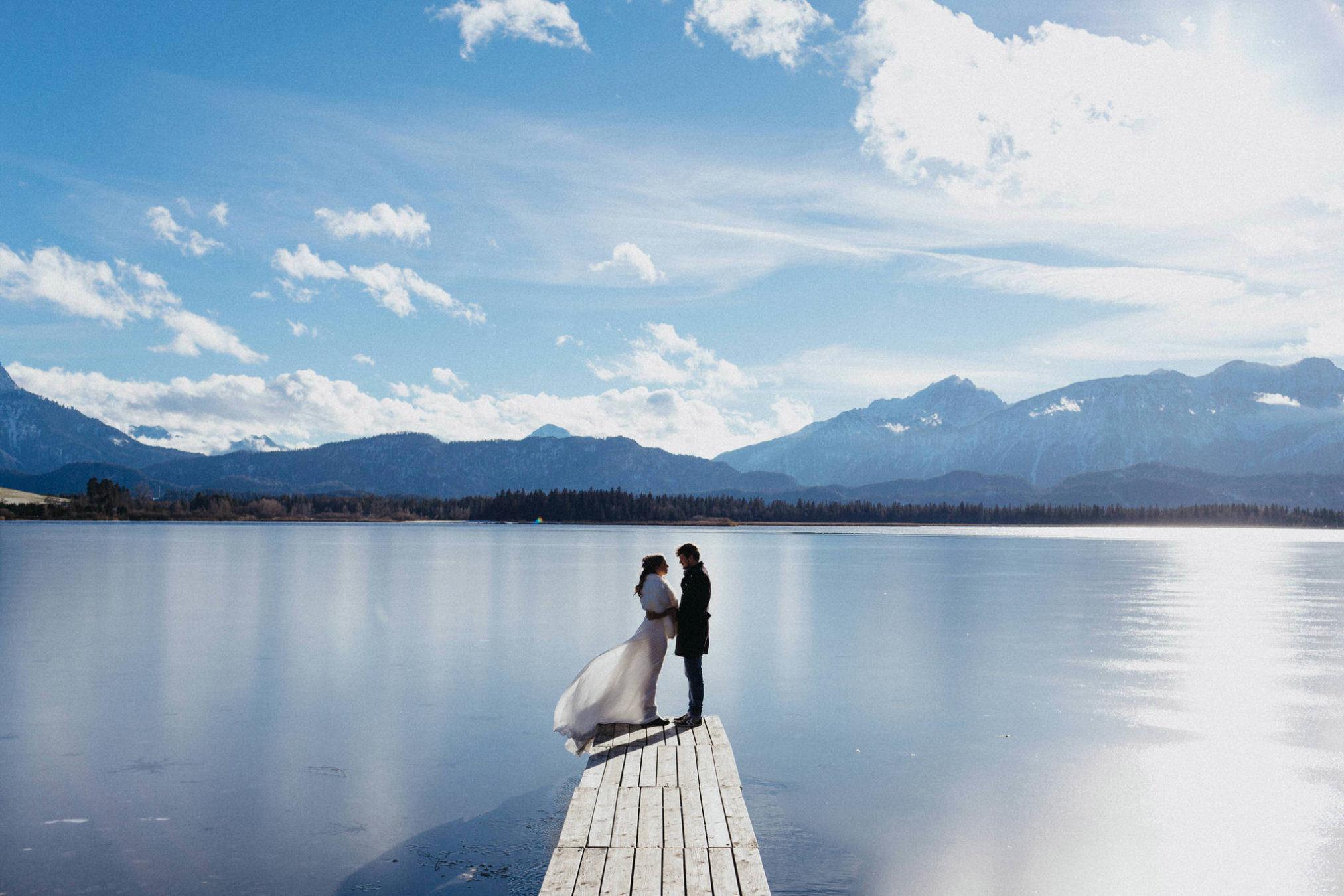 Hochzeitsfotos fussen