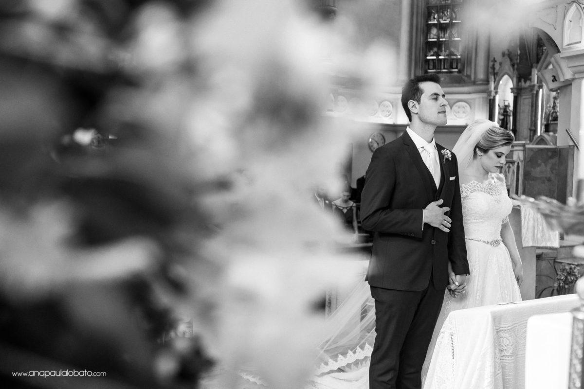 klassische Hochzeit in der Kirche