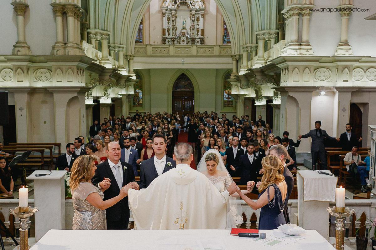Hochzeitsgebetsmoment