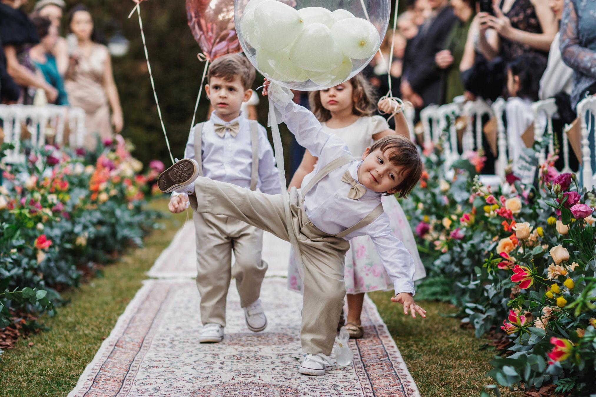 süß Hochzeitsfotos